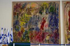 """christelijke Katholieke Aktie Vlaanderen België catechese geloof evangelie """"Je staat verrast van Marc Chagall en die Bijbelse Taferelen in de Knesset"""""""
