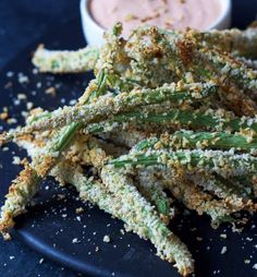 Crispy Baked Green Bean Fries | 12 Healthy Baked Fries Recipes For National French Fry Day
