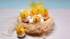 Learn how to make Easter egg chicks that look so real they practically peep!