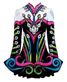 Elevation Design Irish Dance Solo Dress Costume (I think this is over the top but my kid LOVES it)