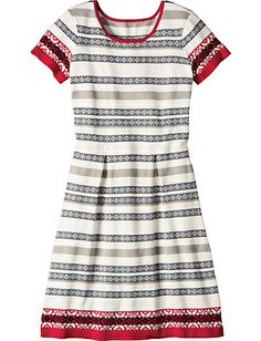 Snow And Tell Sweater Dress from Hanna Andersson
