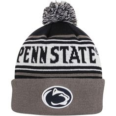 Top of the World Penn State Nittany Lions Youth Navy Blue Ambient Cuffed Knit Hat