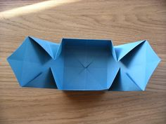 Quick and easy origami gift box tutorial