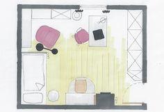 Jugendzimmer mit Dachschräge www.lk-design.at Teenager, Wordpress, Design, Basic Colors, Paint For Walls, Dekoration, Haus, Design Comics