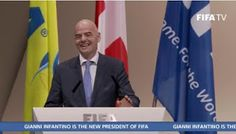 """FIFA president Gianni Infantino says he's confident he can battle """"forces that don't want change"""" after decades of corruption   Whatsapp / Call 2349034421467 or 2348063807769 For Lovablevibes Music Promotion   Swiss-ItalianGianni Infantino who took over from Sepp Blatter as FIFA's top official in Februaryis confident soccer's world governing body has """"turned a page"""" and will overcome the """"forces that don't want change."""" as the last five years have seen the world's governing soccer body…"""