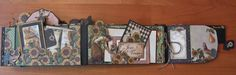 FRENCH COUNTRY DOUBLE ENVELOPE MINI ALBUM
