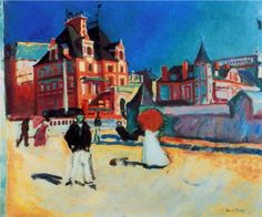 Trouville - Raoul Dufy