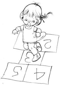 Coloring Book~tina coloring book - Bonnie Jones - Álbuns da web do Picasa Vintage Coloring Books, Coloring Book Art, Colouring Pages, Coloring Sheets, Free Kids Coloring Pages, Coloring For Kids, Colored Pencil Techniques, Painted Books, Hand Embroidery Patterns