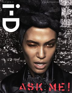 i-D Magazine Spring 2013 Cover - Joan Smalls