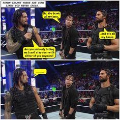 The Shield, Roman Reigns, Dean Ambrose, Seth Rollins Credit Jen @ Dean.ambrose.net