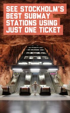 Stockholm has some of the most amazing subway stations in the world! Find out how to see the best ones using just one ticket at A Globe Well Travelled