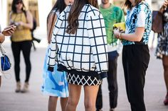 The Best Street Style From Day One of New York Fashion Week - NYFW Spring 2014 - Racked NY
