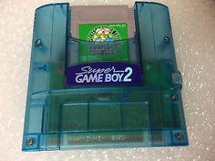 Super Game Boy 2 with Pokemon Green Super Famicom Japan NTSC-J Nintendo Game Boy