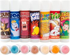 Food-Inspired Lip Balms...ummm, where?!?