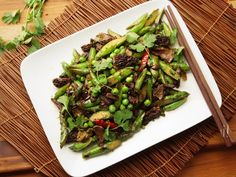 Sichuan Stir-Fried Spring Vegetables