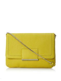 60% OFF R + J Women's Jasmina Shoulder Bag (Chartreuse)