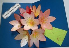 Extreme Cards and Papercrafting: Seven Flower Pop Up Card INSTRUCTIONS HERE