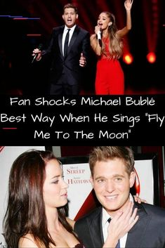 "Fan shocks Michael Bublé in the best way possible when he sings ""Fly Me To The Moon"" Childhood Photos, Perfect Relationship, Michael Buble, Save The Planet, Rare Photos, Singing, Moon, Scientists, Pure Products"