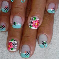 Nail Polish Designs, Nail Art Designs, Mani Pedi, Pedicure, Acrylic Nail Art, Beautiful Nail Art, French Nails, Love Nails, Nail Arts