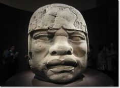 This is still open to discussion *****Ancient Mexico The Olmecs were an ancient civilization in the Americas. Researchers such as Rashidi, Ivan Van Sertima and Alexander Von Wuthenau have discovered and shared evidence showing that the original inhabitants of Mexico were of African descent. The Olmecs were no different from people found in the Mende regions of West Africa.