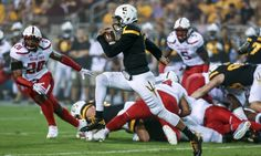 Manny Wilkins silenced critics with performance vs Texas Tech = TEMPE, Ariz. — Manny Wilkins has no fear when he's hurdling players on the football field, but he never dunked a basketball in a high school game because he was too scared of the continued embarrassment he'd feel if he.....