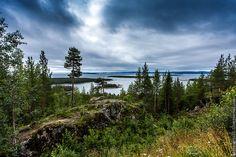 Kandalaksha Bay, one of the four major bays of the White Sea, Kola Peninsula, White Sea, Art And Architecture, Finland, Russia, Mountains, Park, Nature, Travel