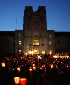 virginia tech | Virginia Tech candlelight vigil, April 2007: Photo by Ben Townsend (CC ...