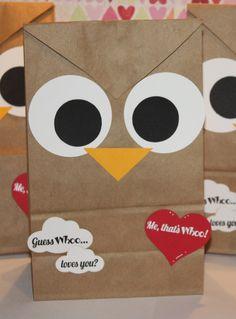 Scrappy Mel: Valentine's Day - Owl Bags!