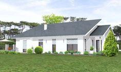 Doppelgarage modern pultdach  moderne bungalow-architektur mit pultdach-Eisner Design-LLC | Arch ...