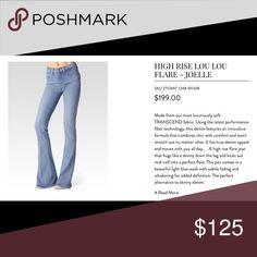 High Rise Lou Lou-Joelle -Paige Jeans 💃🏽🎉 Bundle for more savings🎉 Paige Jeans Jeans Flare & Wide Leg