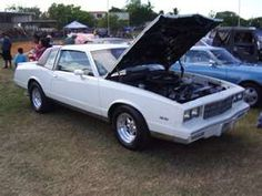 81 Monte Carlo, (3.8 turbo) the second car I owned. ( not my pic...it looked just like it!)