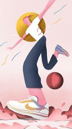 Albert Zhong Yun Long Beijing, China 关注 B Flat Design Illustration, Character Illustration, Digital Illustration, Vector Design, Vector Art, Deco Paint, Cartoon Sketches, Character Design, Drawings