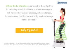 #Vibration #training has multiple #health benefits!
