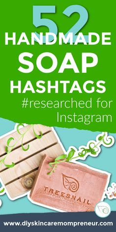Stop using the 'popular hashtag' lists! They're getting you nowhere! If you're a small handmade business, you can't compete with hashtags that have millions of uses. Don't waste your hashtags on overused phrases like #soap or #soapmaking - click through to download a list of 52 RESEARCHED hashtags that are all in the Sweet Spot of 5k to 500k posts. Be seen! www.diyskincaremompreneur.com #skincarebusiness #coldprocesssoap #handmadesoap #diyskincaremompreneur #soapmarketing Business Hashtags, List Of Hashtags, How To Use Hashtags, Cleaning Diy, Diy Cleaning Products, Soap Maker, Instagram Marketing Tips, Cold Process Soap, Diy Skin Care