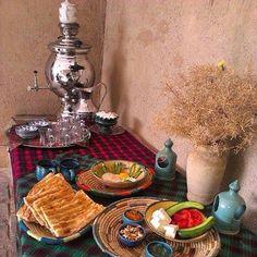 Breakfast time, Iranian style!