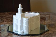 St George UT Temple Model Saint George Temple by CelestialStatues