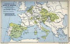 dit was het gebied dat Karel V had.