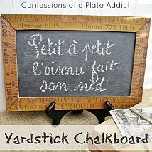 Hometalk :: You can create these vintage-look chalkboards at less than half the co…