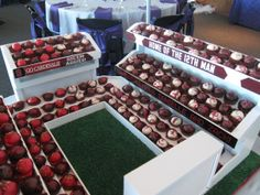 Kyle Field Cake Ball Stand