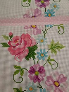 Cross-stitch examples and templates, You can make really specific styles for materials with cross stitch. Cross stitch designs may nearly impress you. Cross stitch newcomers could make the designs they need without difficulty. Cross Stitch Letters, Cross Stitch Borders, Cross Stitch Rose, Cross Stitch Samplers, Cross Stitch Flowers, Modern Cross Stitch, Cross Stitch Designs, Cross Stitch Embroidery, Stitch Patterns