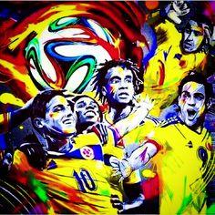 Que viva mi selección Colombia