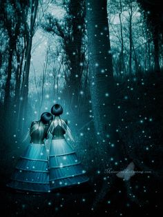Winter Fairies By Maiarcita.