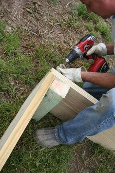 August Fields: how to build a 4 x 12 raised garden bed. plus garden pictures.