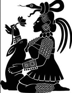 Ixchel, diosa maya de la luna, esposa del dios solar. En ocasiones se le…