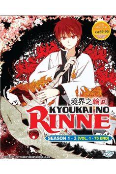 Kyoukai no Rinne / Rin-ne / Circle of Reincarnation Season 1-3 Vol.1-75End Anime DVD Box Set