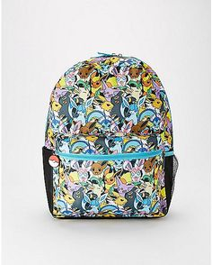 2084bf014d Eevee Evolution Pokemon Backpack - Spencer s