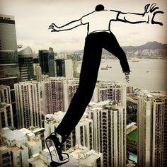 Well, hello Hong Kong! / Christph Niemann