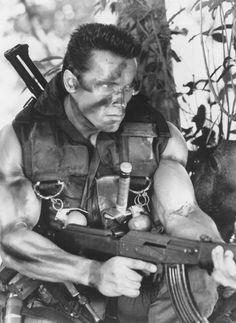 Still Of Arnold Schwarzenegger In Commando.