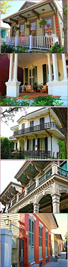 Historic New Orleans Homes Louisiana Creole Crescent