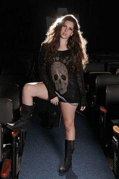 Moda rock com a filha de Fabiana Karla